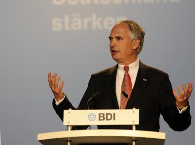 BDI-Präsident Keitel