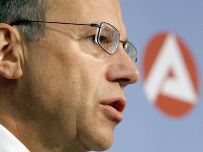 BA-Chef Frank-Jürgen Weise: «Ohne gezielte Zuwanderung wird es nicht gehen».