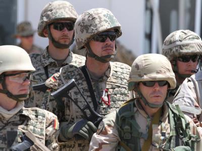 Deutsche ISAF-Soldaten in Afghanistan.