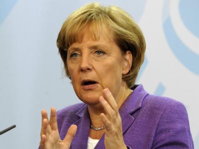 Angela Merkel: «Ich bin sehr zuversichtlich, dass die Menschen unseren argumentativen Wahlkampf mehr schätzen als ein Einschlagen auf andere».