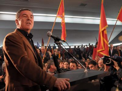 Milo Djukanovic wurde im Amt bestätigt. (Archivbild)