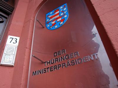 Sitz des Thüringer Ministerpräsidenten