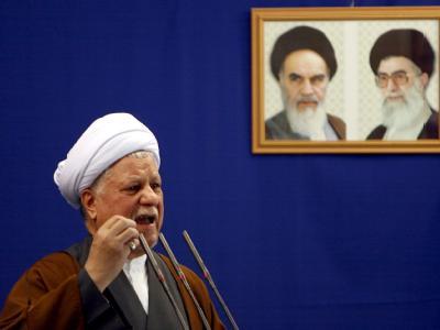 Rafsandschani hat die Iraner zum Gehorsam gegenüber dem obersten Führer des Landes, Chamenei, aufgerufen.