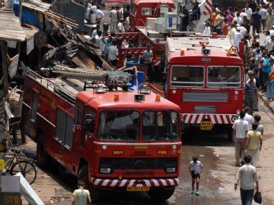 Feuerwehr in Indien