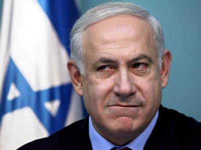 Israels Regierungschef Netanjahu während einer Pressekonferenz am vergangenen Wochenenende in Jerusalem.