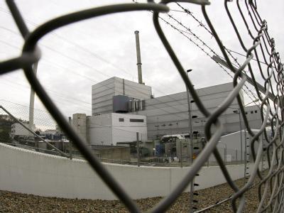 Das Atomkraftwerk Krümmel in Geesthacht.