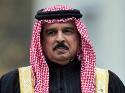 Der Herrscher von Bahrain, König Hamad bin Issa al-Chalifa.