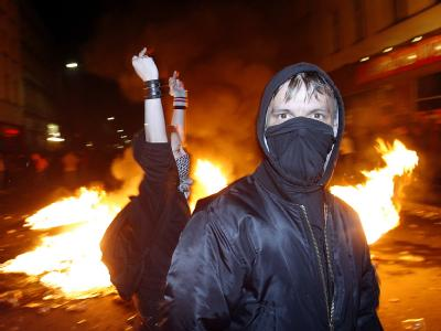 Linksextreme Gewalt