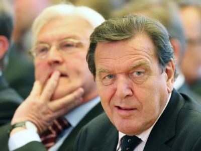 Steinmeier und Schröder