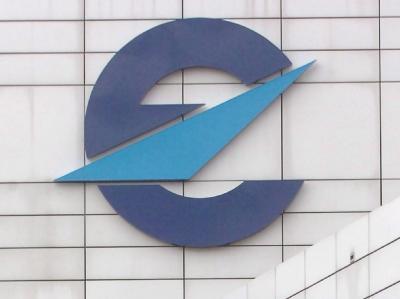 Das Logo von Eurocontrol.