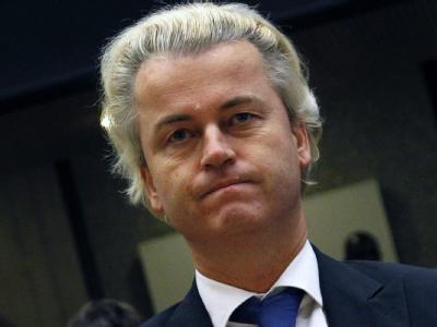 Die Partei von Islamgegner Geert Wilders kann mit Zuwächsen rechnen.