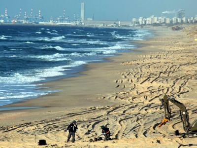 Am Strand von Aschkelon