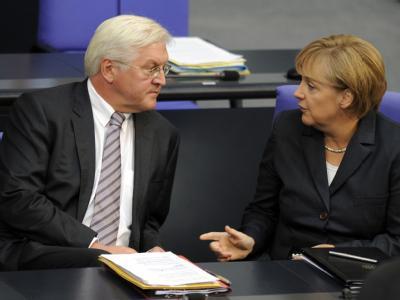 Steinmeier und Merkel