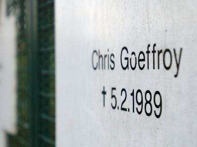 Der 20-jährige Chris Goeffroy wurde noch im Februar 1989 von DDR-Grenzern erschossen.
