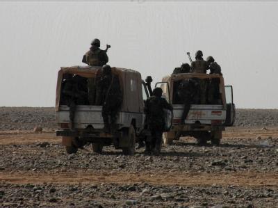 Einsatz in der Wüste