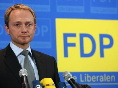 FDP-Generalsekretär Lindner