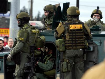 Mitglieder eines US-Spezialkommandos bei einem Einsatz. (Archivbild)