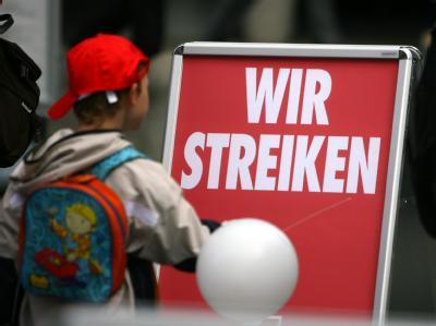 Der Kita-Streik wird auch heute fortgesetzt.