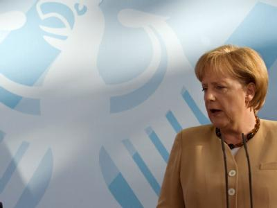 Bundeskanzlerin Angela Merkel verlangt verbale