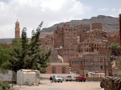 Blick auf ein Bergdorf im Norden des Jemen: Die entführten Deutschen leben angeblich noch.