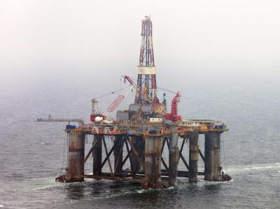 Britische Bohrinsel vor Schottland (Archivbild): Argentinien klagt über «illegale» Ölbohrungen vor den Falkland-Inseln.