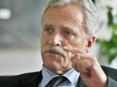 Der Präsident des Bundesamtes für Verfassungsschutz, Heinz Fromm. (Archivbild)