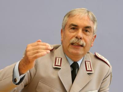 Der Vorsitzende des Deutschen Bundeswehrverbandes, Oberst Ulrich Kirsch.