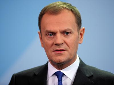 Donald Tusk, hier im Dezember, hat seinen Urlaub abgebrochen und ist nach Warschau zurückgekehrt.