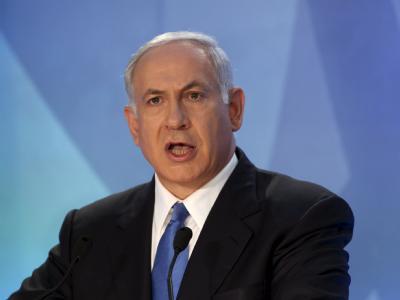 Israels Regierungschef Benjamin Netanjahu. Nach einem Beschluss der nationalen Sicherheitsrats darf die Flotille Gaza nicht anlaufen.
