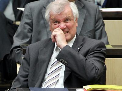 Der bayerische Ministerpräsident Horst Seehofer am Freitag während der Bundesrats-Sondersitzung zur Euro-Rettung.