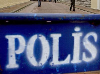 Absperrung der türkischen Polizei. (Symbolbild)