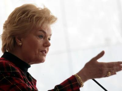 Die Präsidentin des Bundes der Vertriebenen (BdV), Erika Steinbach. (Archivbild)