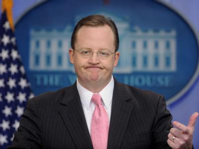 Der Pressesprecher des Weißen Hauses, Robert Gibbs.