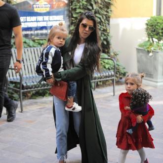 Kourtney Kardashian und ihre Kids
