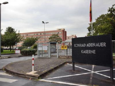 Der militärische Abschirmdienst (MAD) hat seine Zentrale in der Konrad-Adenauer-Kaserne in Köln. Foto:Michael Hübner