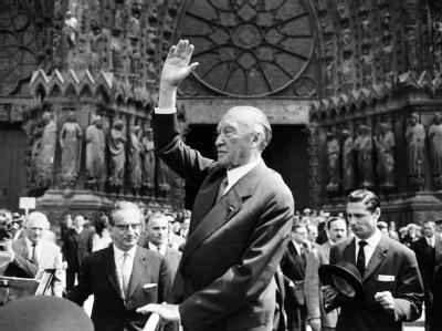 Adenauer in Reims