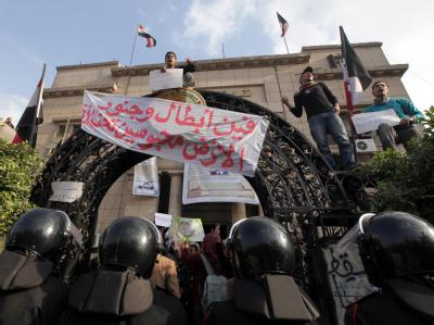 Polizeieinsatz in �gypten