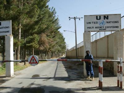 Nach Terroranschlägen in Afghanistan zogen die UN viele ihrer Mitarbeiter ab.