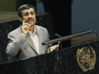 Irans Präsident Ahmadinedschad, hier im März 2010 vor der UN-Vollversammlung in New York.