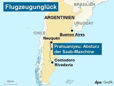 Flugzeugabsturz �ber Patagonien
