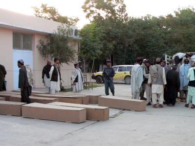 In der südafghanischen Provinz Kandahar sind mindestens 40 Menschen bei einem Sprengstoffanschlag auf ein Hochzeitsfest getötet worden.