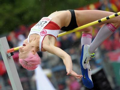 Bei den Olympischen Spielen 2004 und 2008 erlebten die deutschen Leichtathleten jeweils ein Debakel. In London ist die Rehabilitation geplant. Foto:Caroline Seidel / Archiv