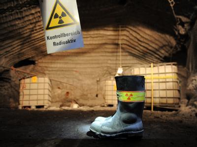 Atomkraftgegner werfen Bundesumweltminister Röttgen bei der Suche nach einer Lösung für das einsturzgefährdete Atommülllager Asse Untätigkeit vor. Foto: Jochen Lübke/Archiv