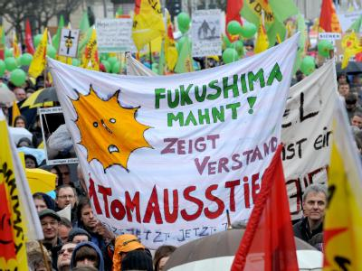 Anti-Atom-Demo in M�nchen