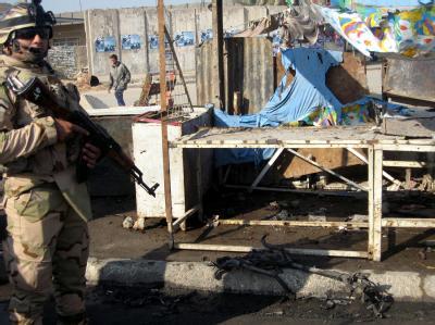 Vermehrt kommt es zu Anschlägen im Irak - wie hier im Januar -, seit die US-Truppen ihren Abzug im Dezember 2011 beendet haben. Archivfoto: Ali Abbas