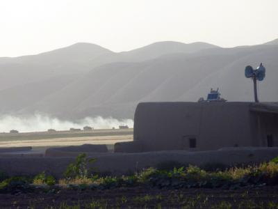 Schon Monate vor dem Anschlag auf einen Bundeswehr-Schützenpanzer im Juni 2011 soll dem Verteidigungsministerium bekannt gewesen sein, dass der afghanische Geheimdienst Terroristen unterstützt. Foto: Naqeeb Ahmed