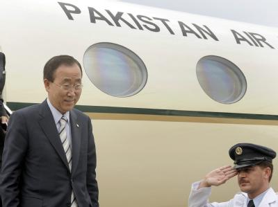 Ban Ki Moon in Pakistan