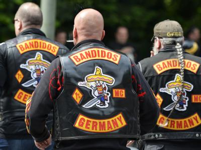 Mitglieder der Bandidos sollen einen Sprengstoff-Anschlag auf Überläufer in Berlin geplant haben. Foto: Marius Becker/Archiv