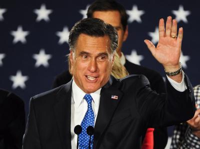 Mitt Romney gilt als klarer Favorit. Foto: Tannen Maury/Archiv