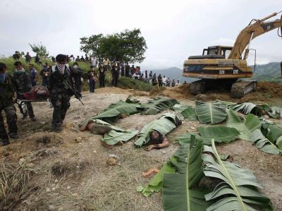 Nach dem grausamen Massaker auf den Philippinen sind weitere Leichen entdeckt worden.